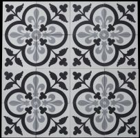 Carrelage Ciment Realisations Fleur De Lys Inspiration Carreaux De