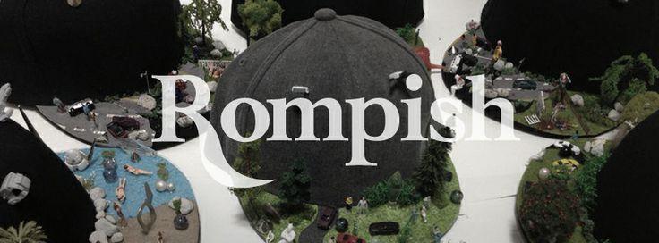 Fashion Brand 'Rompish' Logo design