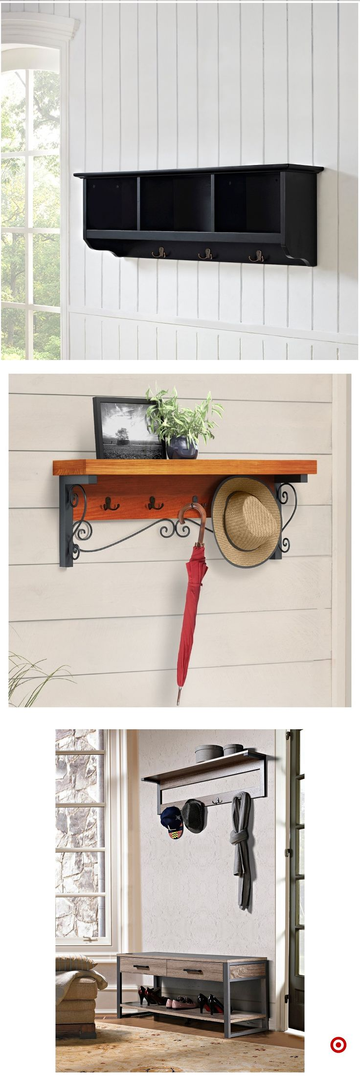 best 25 wall mounted coat rack ideas on pinterest diy coat rack wall mounted coat hanger and. Black Bedroom Furniture Sets. Home Design Ideas