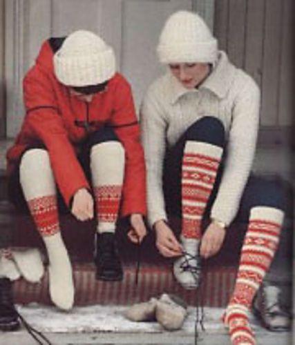 Ravelry: Vöyrin kirjoneuleiset sukat pattern by Traditional Finnish Design
