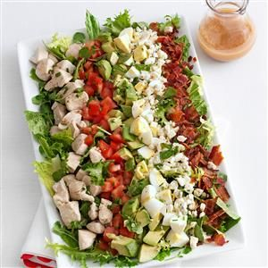 Cobb Salad Recipe from Taste of Home