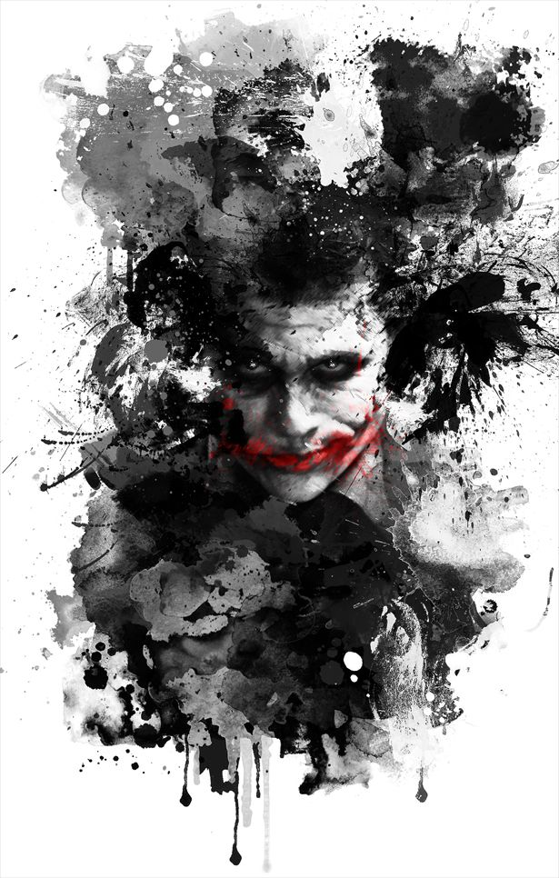 Airbrush Joker Wallpaper: 17 Best Ideas About Why So Serious On Pinterest