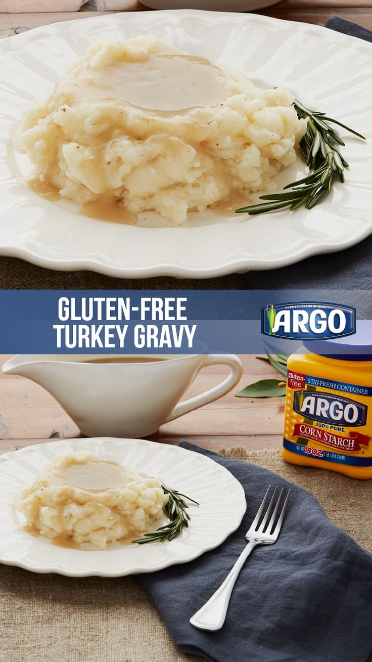 Getting your Thanksgiving menu in order? This easy Turkey Gravy recipe is gluten-free and ready in 15 minutes or less.