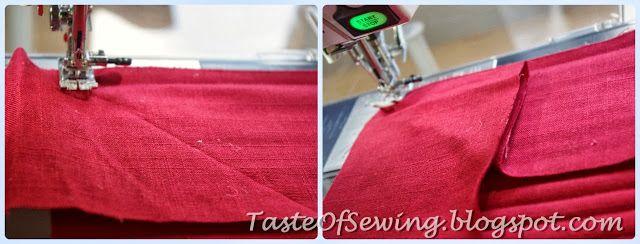 A taste of sewing: Ленивые подушки на табуретки. Инструкция.