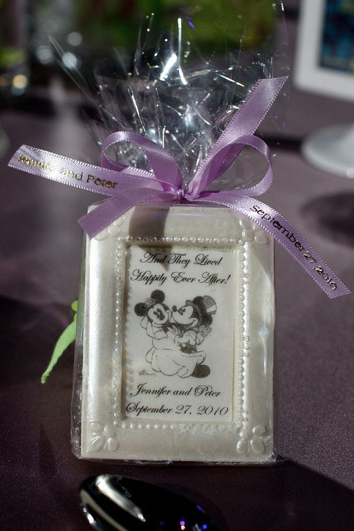 Disney Wedding Favors | Disney Wedding Favor