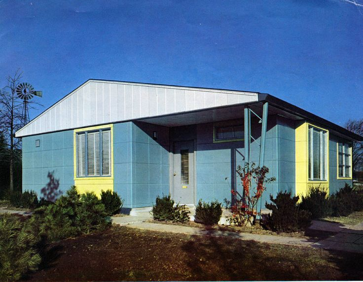 13 best images about sears kit house on pinterest for Steel prefab house