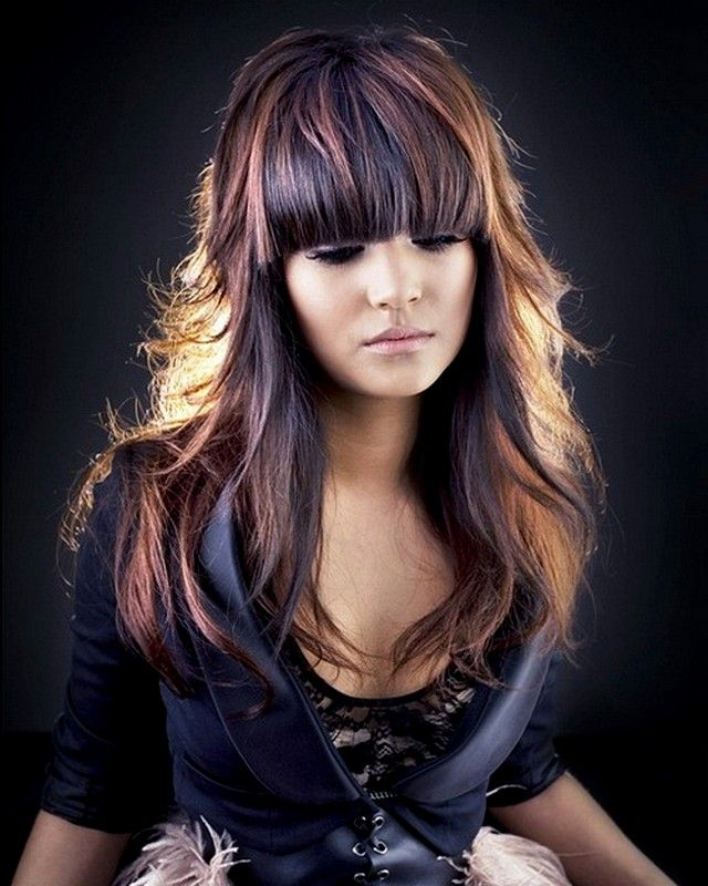 hair color trends 2015 spring brown and black hair color