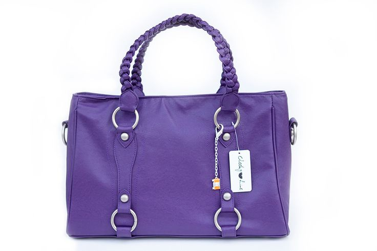 Livy Bag | Purple - cheeky like camera bag