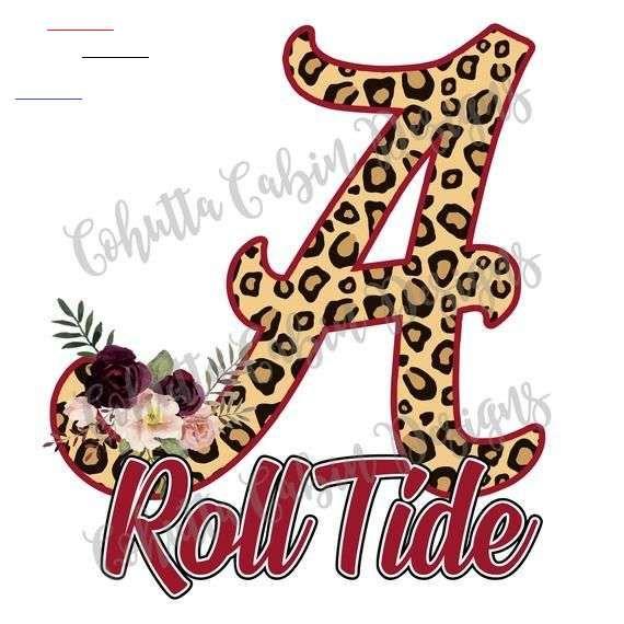 Roll Tide Png Alabama Png Cheetah Alabama Sublimation Floral Alabama Sublimation Design Sublimation Design Downloads Alabama Design Rolltidealabama Th