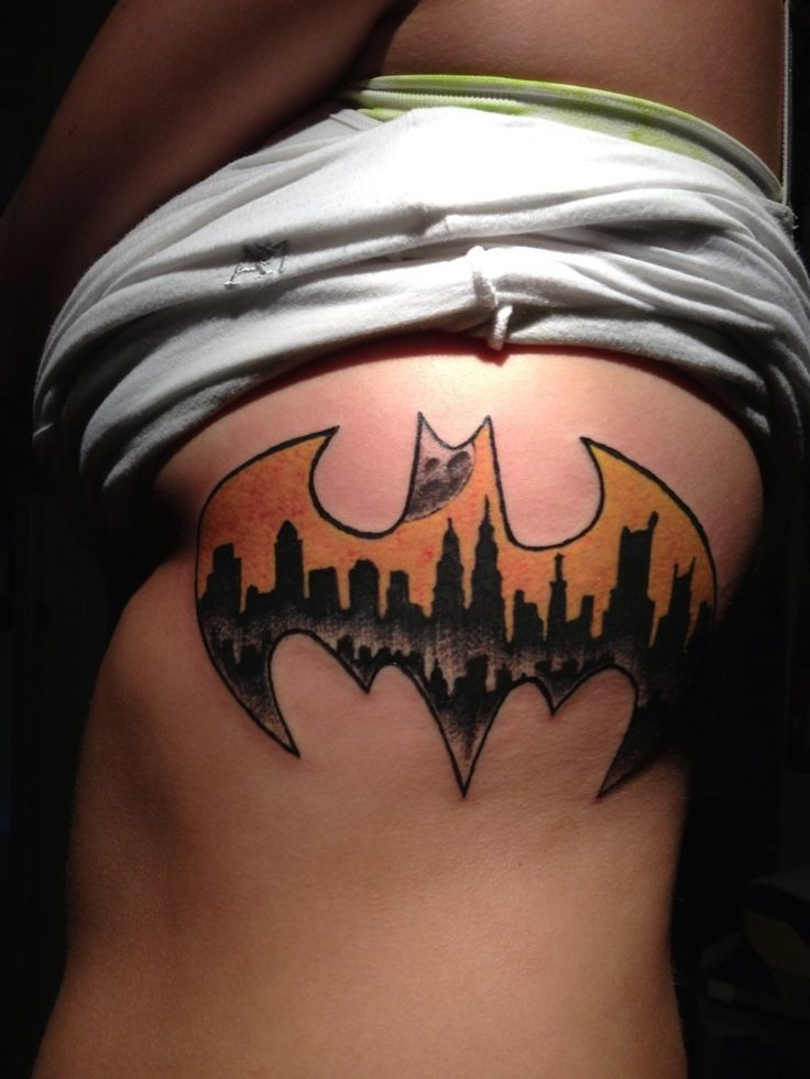 Batman Tattoos For Women for Pinterest