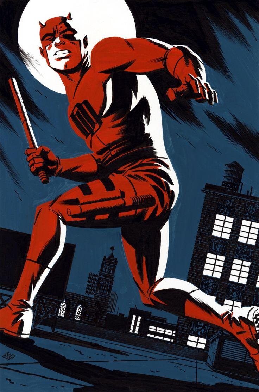 The Lesbo Gotham Deserves   spaceshiprocket:   Daredevil by Michael Cho