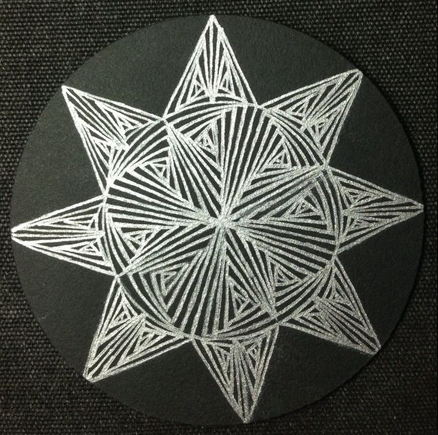 14 best images about zentangle black tiles on pinterest for Zentangle tile template