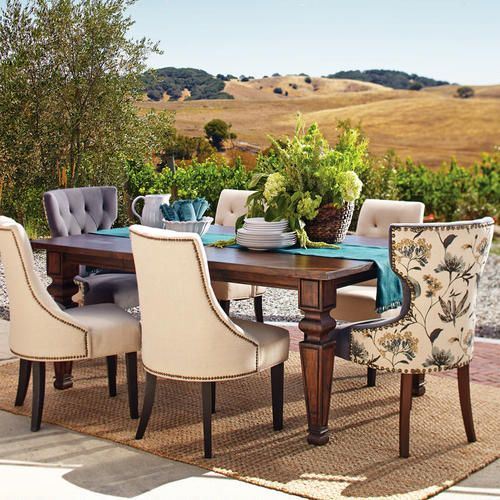 Bishop Double Extension Dining Table