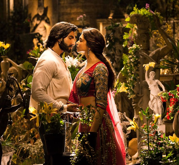 The Bollywood version of Romeo& Juliet! (Ram Leela) I wont be satisfied until I watch this!!!