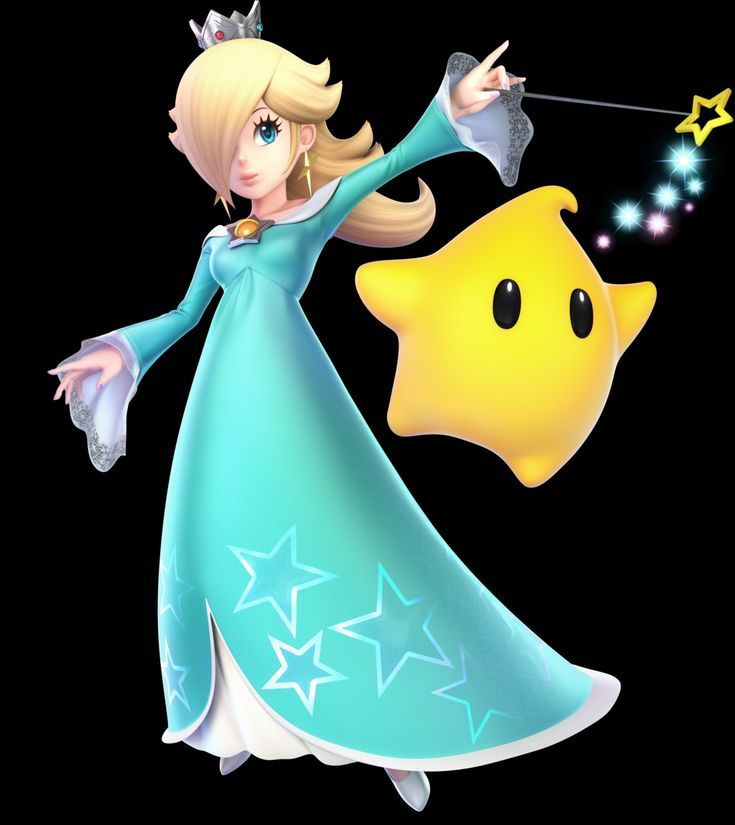 Rosalina  Luma  Ssbu All Characters  Super Mario Bros -2231
