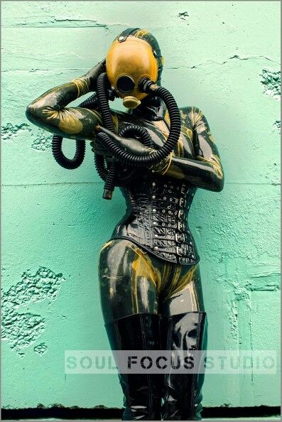 Fetish heavy rubber great catch