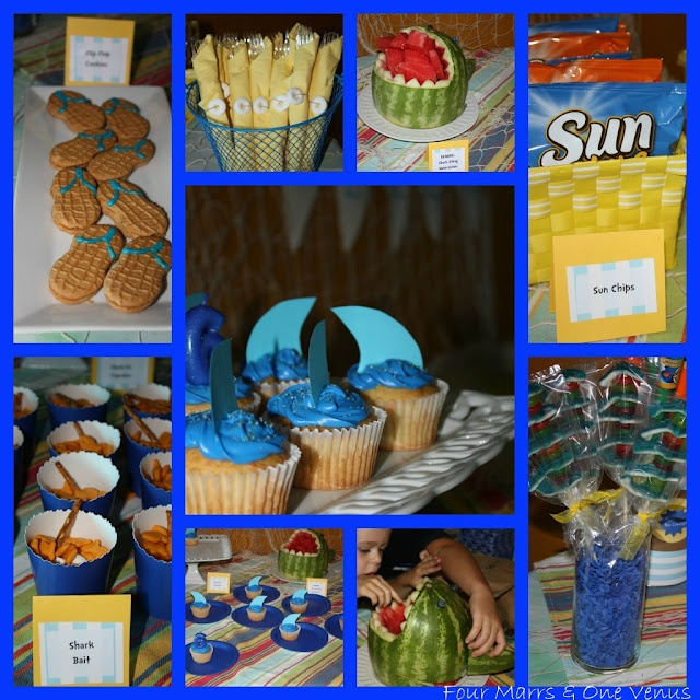 1000+ Ideas About Shark Party Foods On Pinterest