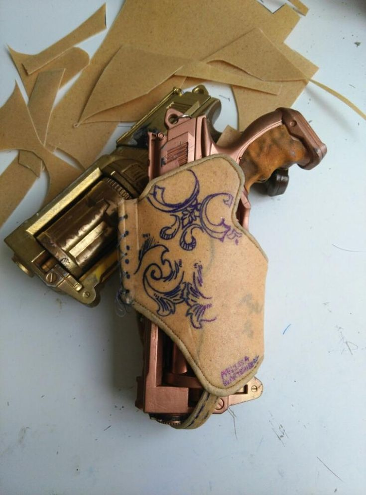 Need a holster for that Maverick Nerf Gun of yours? This is the workshop for you! Melissa Wartenbergthe thermal plastic master will walk you through step by step building your own custom Worbla holster.All materials provided. If you own a … Continue reading →