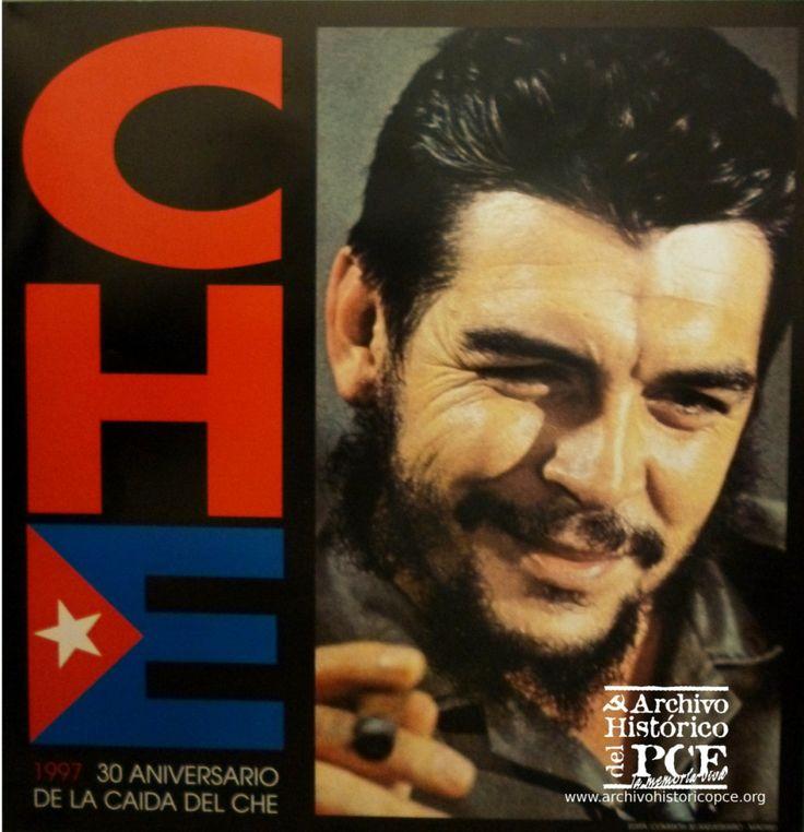 Cartel por el 30 aniversario de la caída del Che