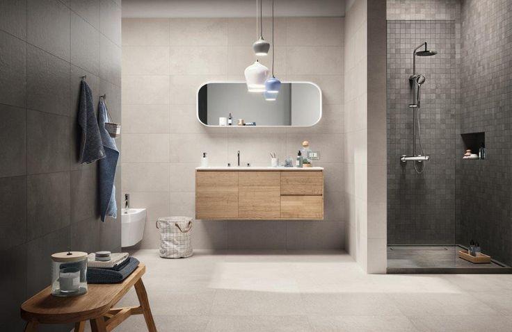 17 beste idee n over badkamer inrichting op pinterest donkere badkamers modern - Ragno tegels ...