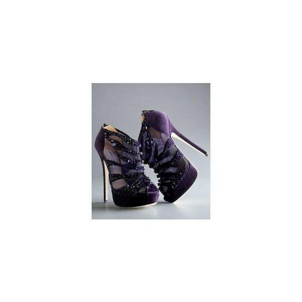 High Heels ❤ liked on Polyvore featuring shoes, pumps, purple, high heeled footwear, purple high heel shoes, high heel court shoes, purple pumps and high heel pumps