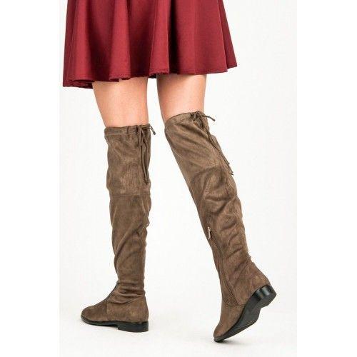 Dámské kozačky Bella Paris Kleeia hnědé – hnědá I kozačky na nízkém podpatku můžou být proklatě stylové! Co muže být v zimně lepšího, než odhodit vysoké podpatky a obout se do pohodlných a zateplených bot. …