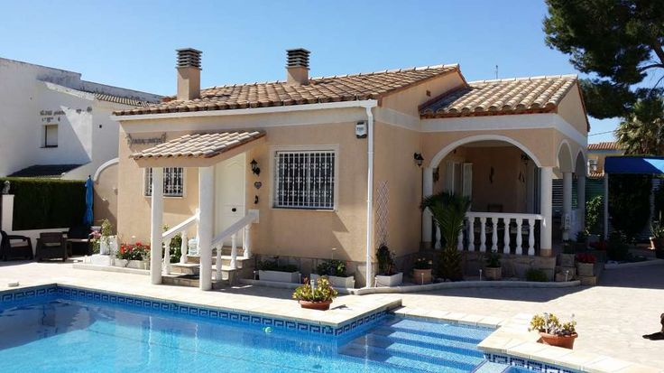 Ferienhaus in L Ametlla de Mar an der Costa Dorada in Spanien für 6 Personen ab 400 Euro pro Woche mit Pool