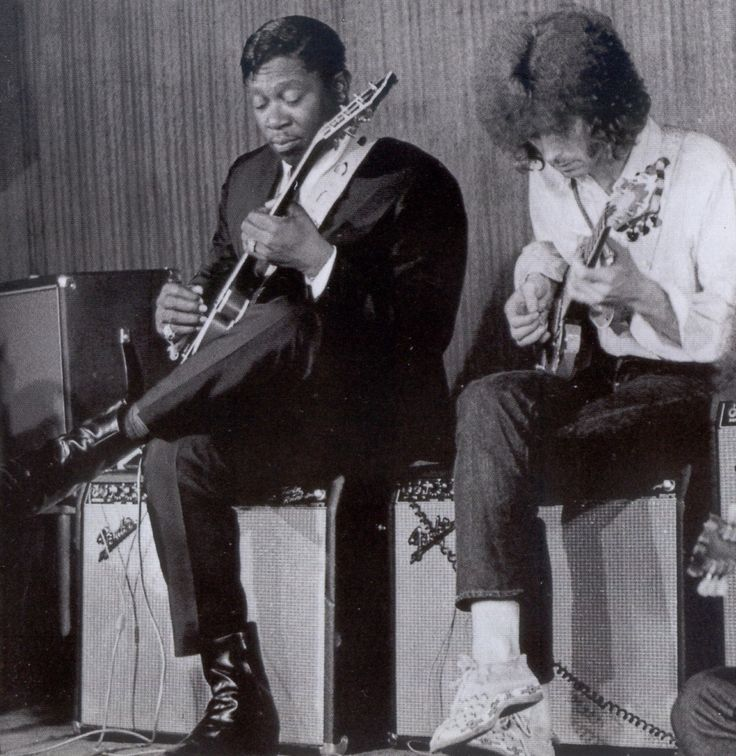 "Eric Clapton | Som Mutante"": B.B.King and Eric Clapton ""Riding with the King"""