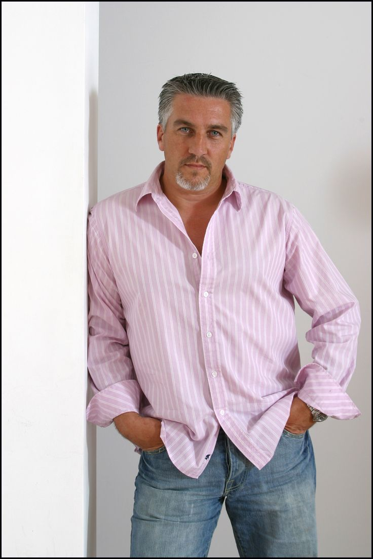 Silverfox beefcake. Paul Hollywood master baker.