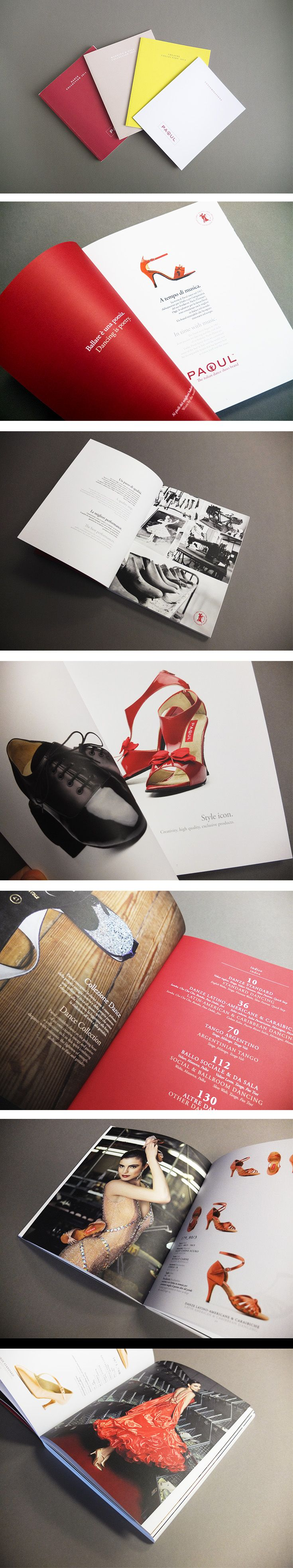 Cataloghi Paoul, un progetto #effADV - Paoul #printing, effADV project - #catalogue  #brochure #shoes #print