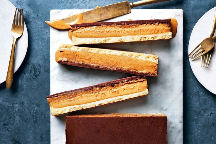 Shortbread, chocolate and caramel come together in a wicked frozen dessert that will keep the late summer warmed at bay. The bonus? It's freezer-ready for ad-hoc entertaining (not that you'll want to share!).