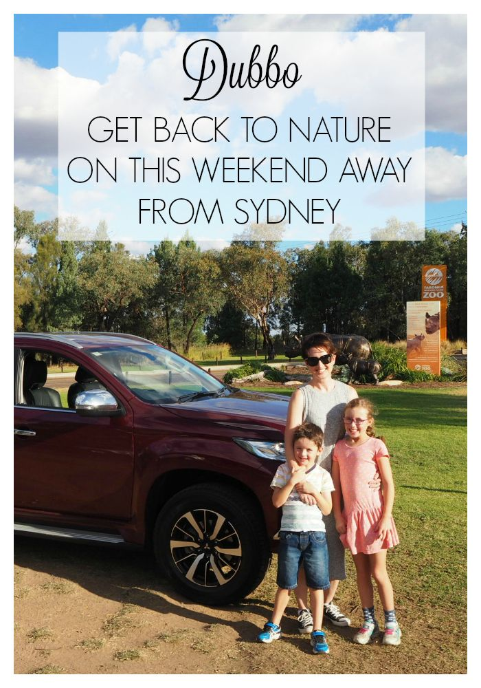 Sydney to Dubbo drive - Get back to nature on this weekend away - This roadtrip will have you meeting the animals, giving camping a go, discovering ancient caves, soaring peaks and picking apples from the tree #familytravel #sydneytodubbo #dubbozoo