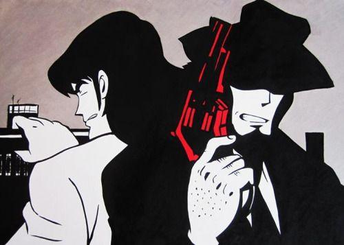 Quadri Pop Art moderni dipinti a mano con colori acrilici di...