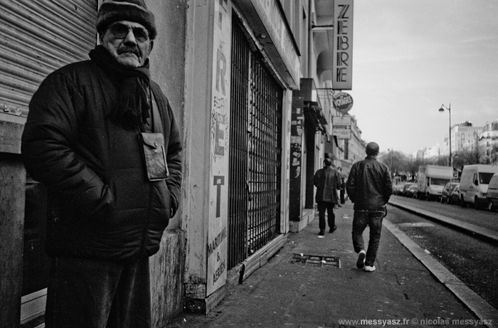 ARCHIVES JOURNAL PHOTO, il y a 3 ans: «Le Zèbre de Belleville» La PHOTO du Jour du 8 janvier 2010