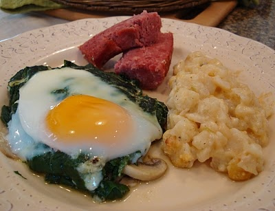Spinach and Eggs on Pinterest
