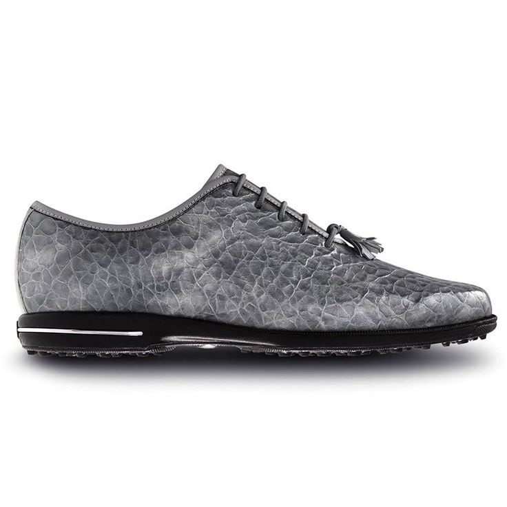 FootJoy Tailored Golf Shoes 2016 Ladies Grey Croc Medium 11 ** Details can be found by clicking on the image.