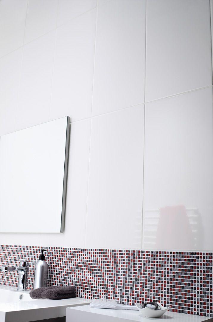 216 best salle de bains images on pinterest merlin - Carrelage mural salle de bain leroy merlin ...