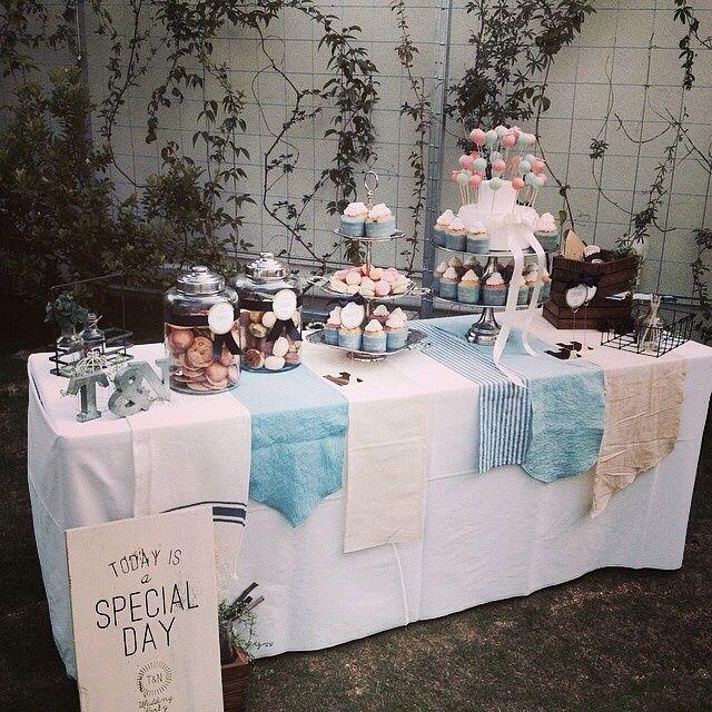キャンディビュッフェのイメージ |ハワイ+Ritzウエディング♡タンタラスの花嫁日記