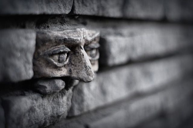 street art Another brick in the wall In Gorzow Poland