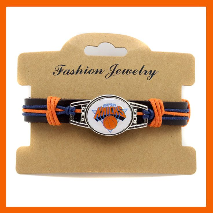 FASHION NEW YORK KNICKS BASKETBALL TEAM GENUINE LEATHER BRACELET BASKETBALL FANS GIFTS DROP SHIPPING #Affiliate
