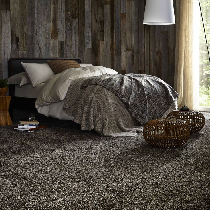 Exceptional Bring The Outdoors Inside #wood #wallpaper #Saxony #carpet A Bedroom Full Of