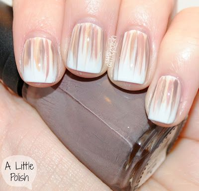 Work Appropriate Waterfall Nails - I would love this with different colors of pink