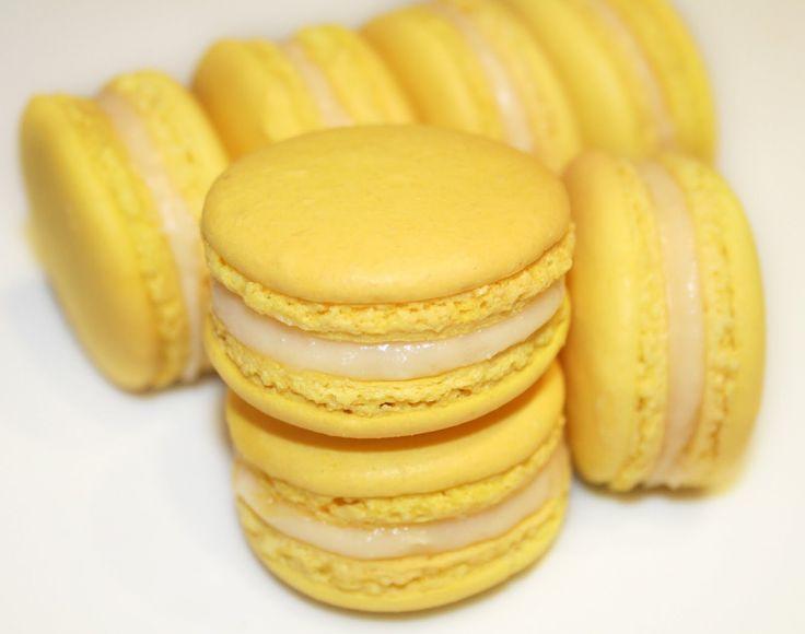 La Cuisine de Bernard: Les Macarons au Citron