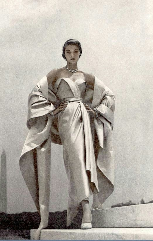 Christian Dior Evening Ensemble, 1951