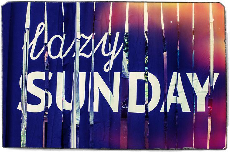 #lazy #sunday #sign