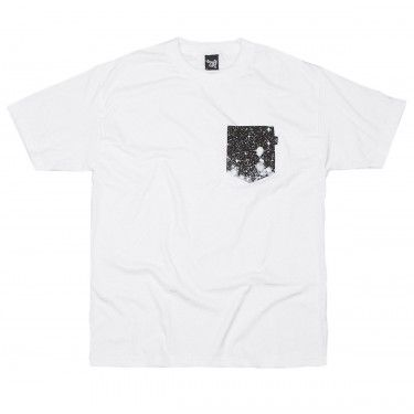 The Quiet Life - Cosmos Pocket T-Shirt White/Black