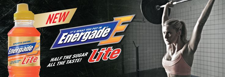 Energade :: It's what you put in!