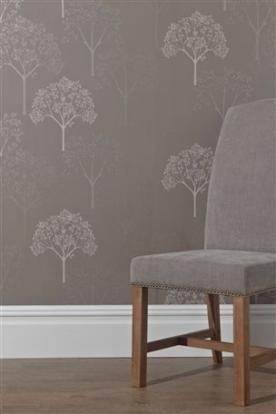 Full trees mink wallpaper from the next uk online shop for Wallpaper next home