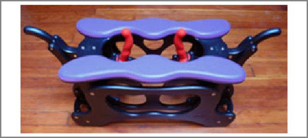 The Monkey Rocker Tango Dual Fucking Machine - Sex Machine For Insatiable Fetish Sex Action