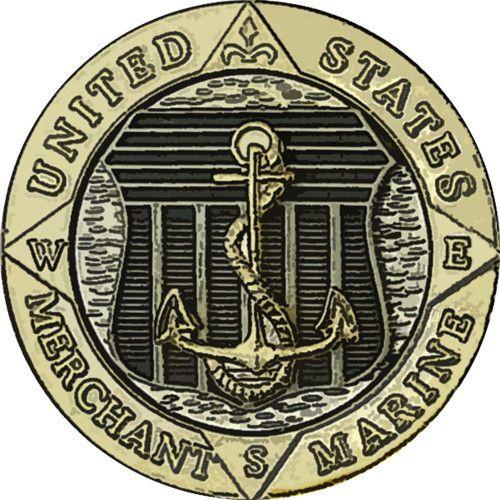 Merchant Marine Emblem Sticker – USAMM